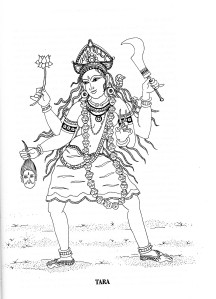 Tantric wisdom goddess of poetry and prose