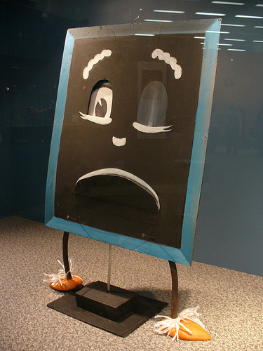 blackboard from Mr Squiggle