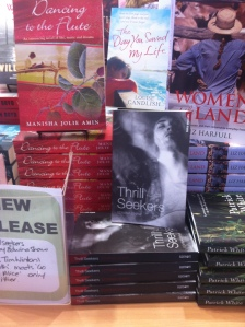 Thrill Seekers on new release table