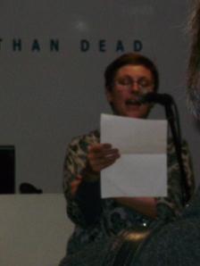Karen Ferris, manager of Better Read Than Dead