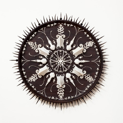 Bone Mandala by Steven Vella
