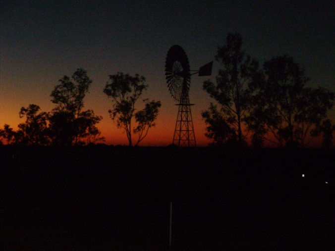 Dawn, Julia Creek north west Queensland