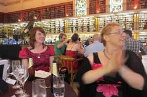 Favel Parrett and Edwina Shaw at NSW Literary awards
