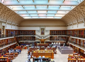 The Mitchell Reading Room, State Library of NSW