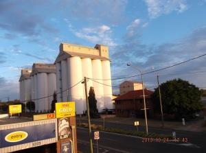 Kingaroy peanut  silos