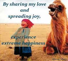 sharing my love and spreading joy