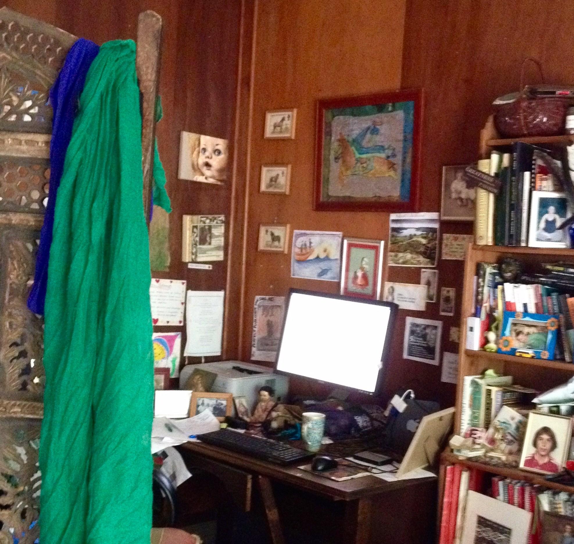 Edwina's Writing space