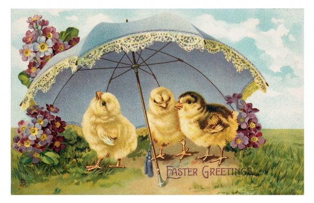 easter-vintage-chicks-card