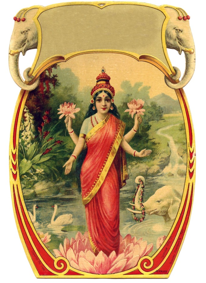indian-goddess-vintageimage-Graphics-Fairy3